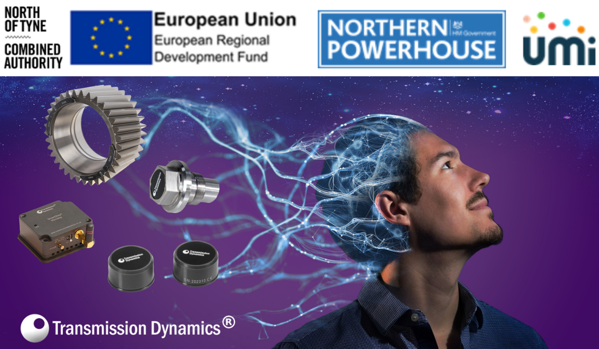 Transmission Dynamics has been helped by NTCA Growth Fund. Part Funded by the ERDF and delivered by UMi. Branding image.